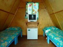 2-х местный деревянный домик
