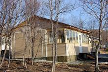 Круглогодичный двухкомнатный домик из бруса